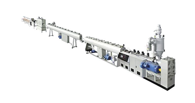 宜宾PP-R管材挤出机生产线