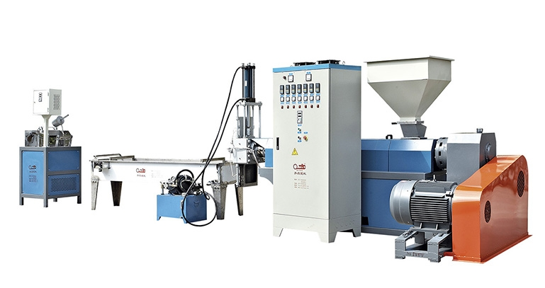 PP/PE/ABS plastic recycling Granulating Production line