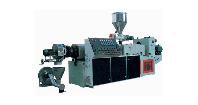 Wood plastic granulator