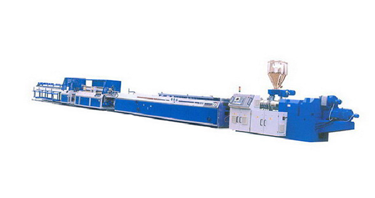PVC male angle line - Yin Kok line extruder production line